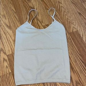 Never worn, Stretchy crop top size s/m